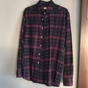 3 for $30 Xacus plaid button up 16.5/42